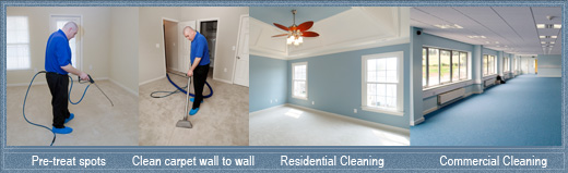 commercial and residential carpet cleaning